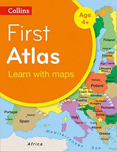 Collins First Atlas (Collins Primary Atlases)