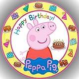 Fondant Tortenaufleger Tortenbild Geburtstag Peppa Pig T18