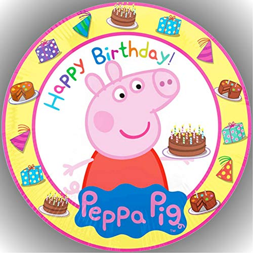 Premium Esspapier Tortenaufleger Tortenbild Geburtstag Peppa Pig T18