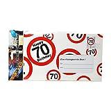 Preis am Stiel 2 x Riesen-Umschlag 70