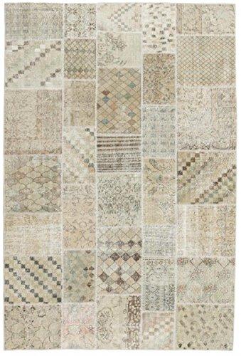 Patchwork-orientalische Teppiche (Patchwork Teppich Orientalischer Teppich 301x199 cm Handgeknüpft Modern)