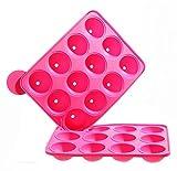Produktbild von Cepewa 30328 Silikonform Cake Pops 12er Backform