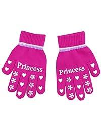db5a2725497c8 Gant Gloves Chaud Automne Hiver En Plein Air En Tricot A Motif Coeur Et  Etoile Pour Enfant Unisexe Fille Garçon…
