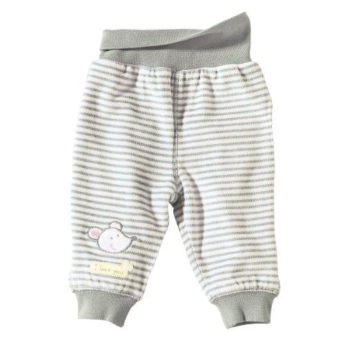 BORNINO Nickihose Baby-Hose, Größe 74/80, grau