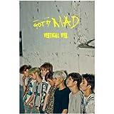 GOT7 - [ MAD ] Mini Album VERTICAL.Ver CD + Photocard + Poster Sealed K-POP JYP