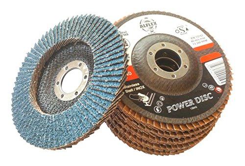 Preisvergleich Produktbild Alfex a.0191–40 Power zirconated Klappe Disc,  Z40,  115 mm Durchmesser x 22 mm Breite