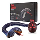 Lanlan ABS Material Hohe Nachahmung Schlange Tierspielzeug Lustige Streich Spielzeug mit Fernbedienung für Kinder