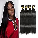 Best Brazilian Straight 4 Bundles - NEWFB 12 14 16 18Inch: Brazilian Straight Hair Review