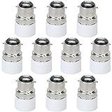 TOOGOO(R) 10 pcs. B22-E14 LED Vis Adaptateur Ampoule Convertisseur