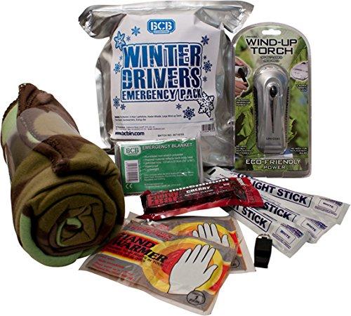 BCB Adventure Survival Winter Drivers Emergency Kit (Auto Survival-kit Für)