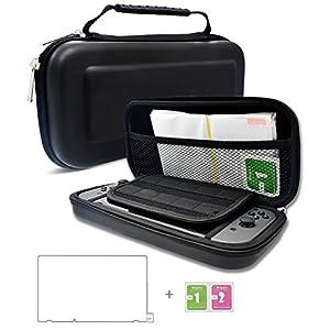 Dailylux Hart Reise Tasche Schutzhülle für Nintendo Switch Etui Case Cover mit