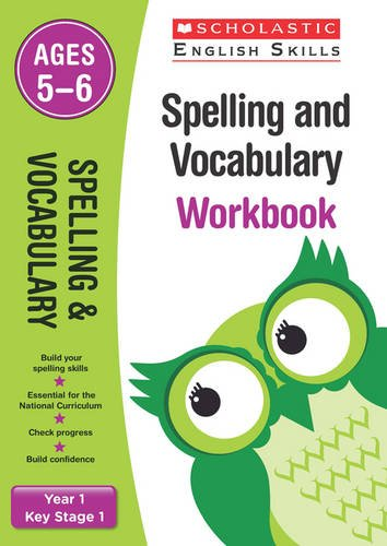 Spelling and Vocabulary Workbook (Year 1) (Scholastic English Skills)