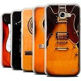 Coque Gel TPU de STUFF4 / Coque pour Samsung Galaxy A5 (2017) / Multipack (6 Designs) / Guitare