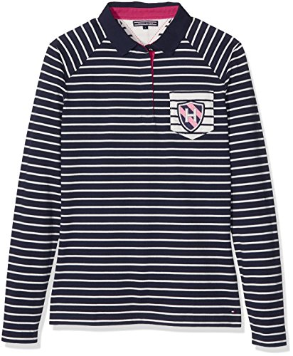 Tommy Hilfiger Womens Tomasa Rugby Ls Polo Shirt