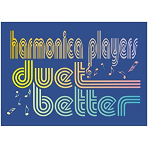 Teeburon Harmonica duet better Sticker Pacchetto di