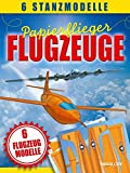 Papierflieger: Flugzeuge. Modellbogen