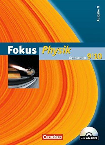 Fokus Physik - Gymnasium - Ausgabe N: 9./10. Schuljahr - Schülerbuch mit DVD-ROM