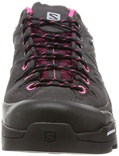 Salomon L37927000, Chaussures de Randonnée Femme Gris