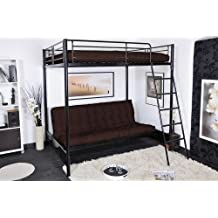 lit mezzanine 140x190. Black Bedroom Furniture Sets. Home Design Ideas
