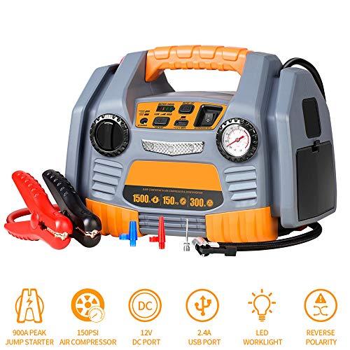 Preisvergleich Produktbild Tragbarer Generator 300W,  USB und reiner Sinus-Wechselrichter Generator-Netzteil,  mit Wechselrichter für Camping und Notfall