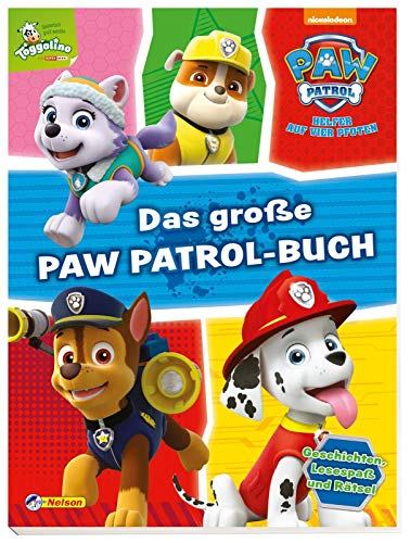 PAW Patrol: Das große PAW-Patrol-Buch -
