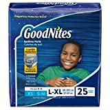 Goodnites Boys Underwear Large/Extra Large Boy 20 Count (Pack of 3) Packaging May Vary