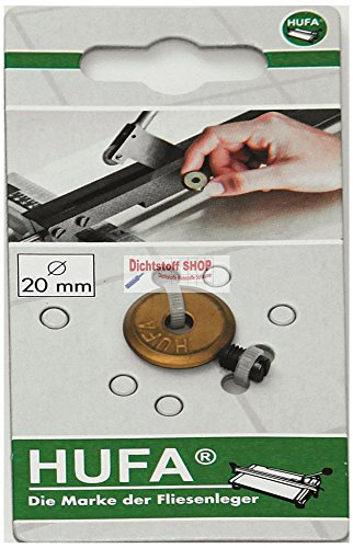 Hufa Titan-Nitrit Schneidrad Ø20mm + Achse