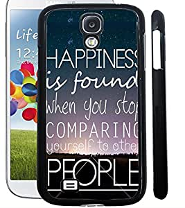 ColourCraft Quote Design Back Case Cover for SAMSUNG GALAXY S4 I9500 / I9505
