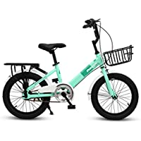XMIMI Bicicleta Plegable para niños Niña Escolares Cochecito Cochecito Hombres y Mujeres Bicicleta para niños Bicicleta 20 Pulgadas