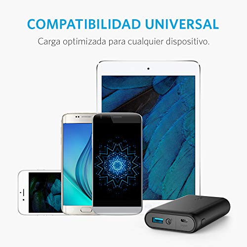 Best anker power bank in India 2020 Anker PowerCore FBA_A1266H11 10000mAH Lithium-ion Power Bank (Black) Image 6