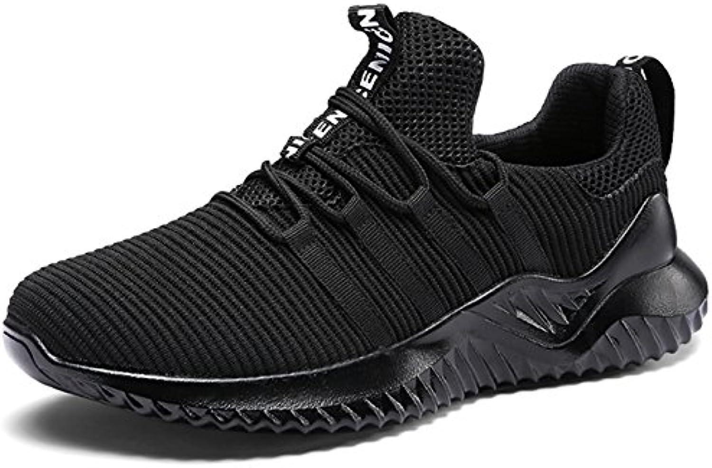 GNEDIAE Hombre Zapatos Deportivos Plano Zapatillas de Running Deportes para Hombre Gimnasio Correr