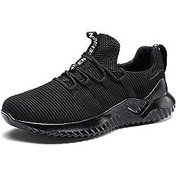 IIIIS-F Zapatillas Hombre Zapatillas Running Hombre Zapatillas Deportivas Hombre de Cordones en Gimnasio