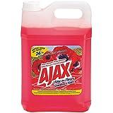 AJAX Bidon de 5 litres nettoyant parfum fleurs rouge