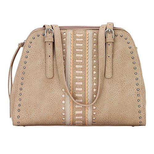 Banadana From American West  Êcross-body Bags,  Damen Umhängetaschen , beige - El Dorado - Beige - Größe: One Size (American West Handtasche)
