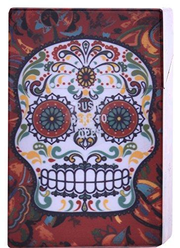 Sizzix Texture Fades Pr/ägeschablone-Totenkopf Damast von Tim Holtz 17.5 x 12.4 x 0.5 cm Plastik Mehrfarbig