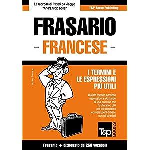 Frasario Italiano-Francese e mini dizionario da 25