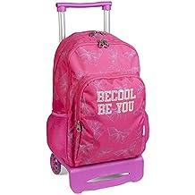 mochila escolar doble carro ruedas BECOOL by DIS2