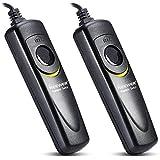 Neewer® 2 Paquete de la Cámara Réflex Digital de Control Remoto con Cable Gatillo Disparador para Sony Alpha A7 / A7R / A5000 / A6000 / A58 / RX100II / RX100M3 / NEX-3N / DSC-HX300 / DSC-RX100M3 / DSC-RX100M2 / DSC RX100III / DSC -RX100II
