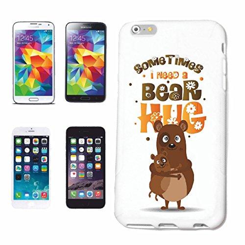 Handyhülle Samsung Galaxy S8+ Plus Some Timos I Need A Bear Hug BÄR BRAUNBÄR EISBÄR Baby EISBÄR BRAUNBÄR JÄGER Jagd Bear WILD TROPHÄE BÄRENKOPF Hardcase Schutzhülle Handycover Smart Cover für Samsung