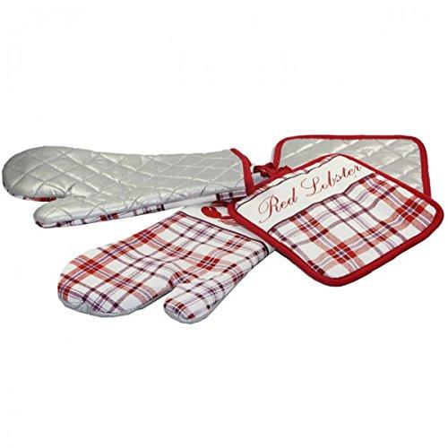 4tlg-kuchenset-handschuhe-topflappen-alu-beschichtung-ofenhandschuh-backhandschuh-farberot