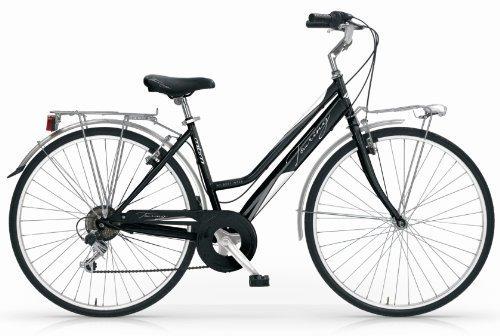 Mbm - Touring Bicyclette Vélo Femme 28'' 18S H46 Trekking City Bike