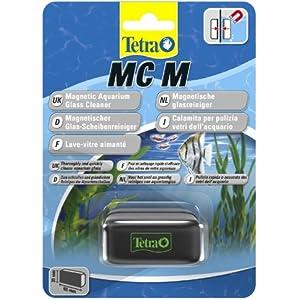 [Gesponsert]Tetra MC Scheibenreiniger Größe M (schwimmender Magnet für Aquarien zum schnelle und gründlichen Reinigen von Aquarienscheiben, geeignet für Becken bis 5 mm Glasstärke)