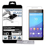 Film Protecteur d'écran en VERRE TREMPE pour Sony Xperia M4 \ M4 Dual Aqua Ultra Transparent Ultra Résistant INRAYABLE INVISIBLE