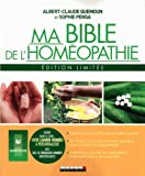 Ma bible de l'homéopathie - Edition limitée. Avec un cahier personnalisable