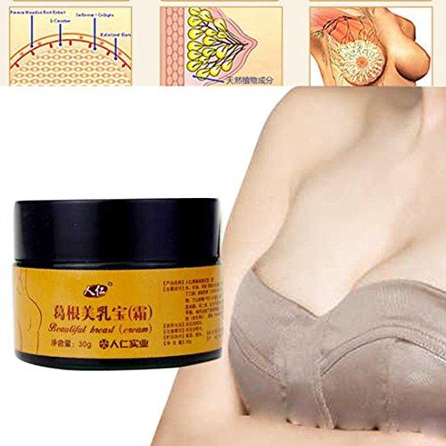 IGEMY Schöne Brust Brustvergrößerung Cream Smooth Large Curvy Breast (white)