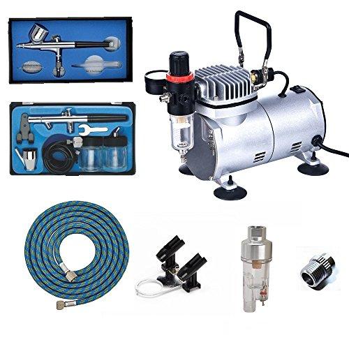ABEST Kit compresor Airbrush Plus accesorios aerógrafo-Manguera