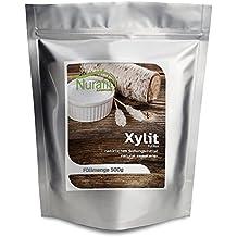 NuraFit Xylit | Natürlicher Zuckerersatz | 40% weniger Kalorien | Feiner Xylit Zucker aus Xylose gewonnen | 1000g / 1kg
