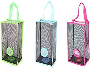 Swarish Plastic Hanging Garbage Storage Bag (38x10x20cm, Blue)