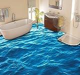 Malilove 3d-PVC Bodenbeläge benutzerdefinierte wasserdicht Wand Papier die Oberfläche Wave 3d Badezimmer Bodenbeläge bild Wandbild Fototapete für Wände 3d