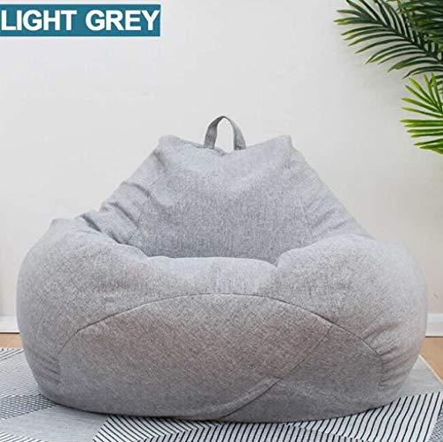 MICHEN Grande Pequeño Lazy Beanbag Sofás Cubierta Sillas sin Relleno
